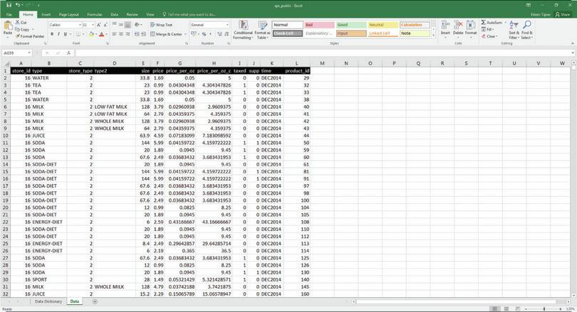 How to make a frequency table using Excel's PivotTable option.
