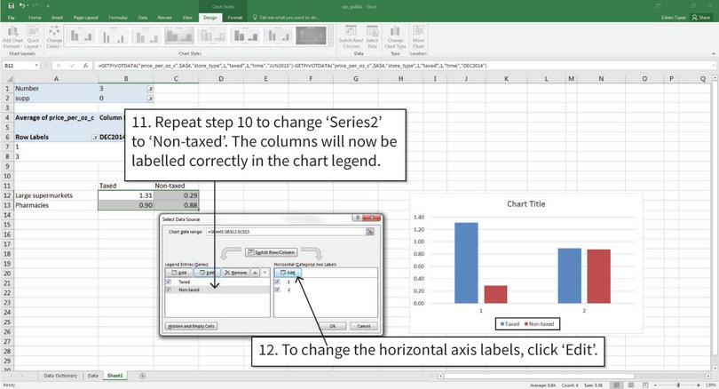 Doing Economics: Empirical Project 2: Working in Excel