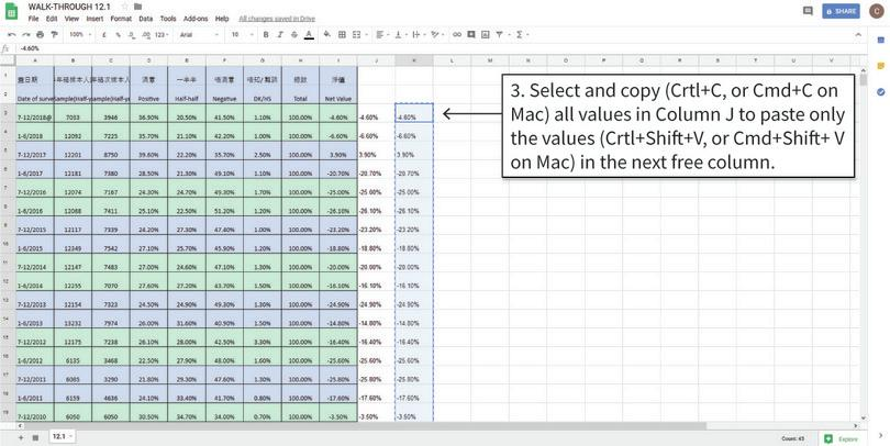 Copy and paste values into a new column : The numbers in Column J are still stored as text, but we cannot convert Column J to numbers because there is a formula in those cells. Instead, we need to copy and paste (values only) into a new column, then convert the pasted data to numbers.