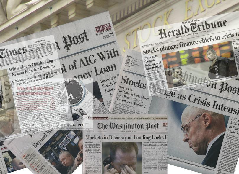 Financial Crisis Headline Montage: pingnews.com, https://goo.gl/yAQq7m, licensed under CC BY-SA 2.0
